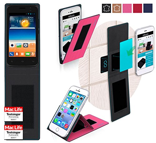 reboon Gionee Pioneer P2S Hülle Tasche Cover Case Bumper | Pink | Testsieger
