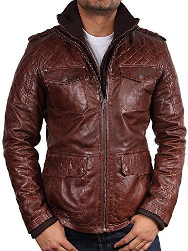uk-vintage-mens-brown-quilted-leather-bomber-jacket-casual-fitted-style-s-5xl-large-brown