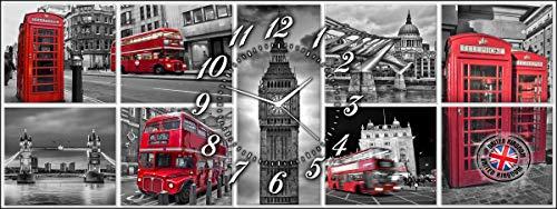 Lupia clockart Carte Postale de Londres 30 x 80 cm
