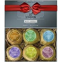 ArtNaturals Bath Bombs Gift Set - Ultra Lush Essential Oil - Handmade Spa Bomb Fizzies 4.1 oz., 6 Count