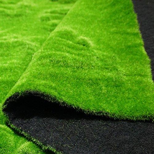 WENZHE Efeu Künstlich Hängende Rebe Plants Wanddekoration Simulation Schwamm Moos Grün Teppich Innen Im Freien Rasen, 1 X 1 M (größe : 3 pieces) (Teppich Grüner Reben)