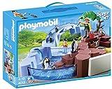 Playmobil - Zoo: superset piscina pingüinos (4013)
