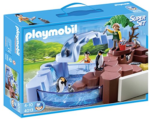 Playmobil - Zoo: superset Piscina pingüinos 4013