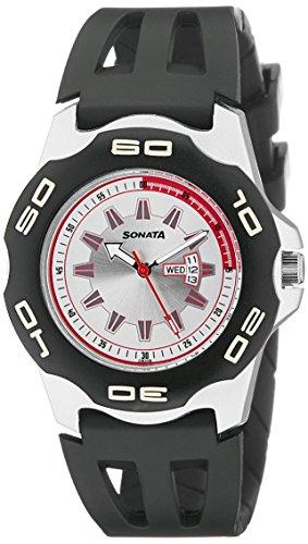 511ty78ivBL - Sonata NF7929PP05J Mens watch