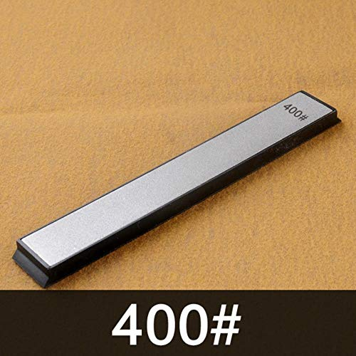Sxcyu 240 400 600 1000 grit Diamond Knife Sharpener Angle Sharpening Stone Whetstone Professional Knife Sharpener Tool bar,400 grit