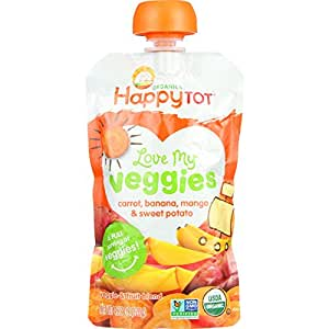 Organic Baby Food -Veggie and fruit blend