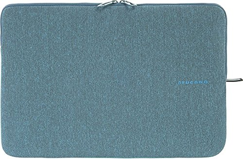 Tucano BFM1314-Z Second Skin Melange Neopren Notebook Sleeve, 33,78-35,56 cm (13,3-14 Zoll) hellblau Tucano Laptop