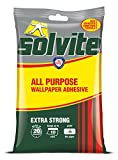 Solvite - Adhesivo extra fuerte para papel pintado (10 rollos)