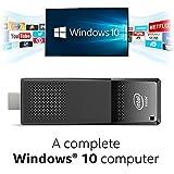 Intel BOXSTK1AW32SC Unité centrale Noir (Intel Atom x5 Z8300, 2 Go de RAM, 32 Go, Intel HD Graphics, Windows 10)