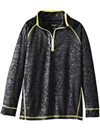 Reebok Boys' 1/4 Zip Up Jacket