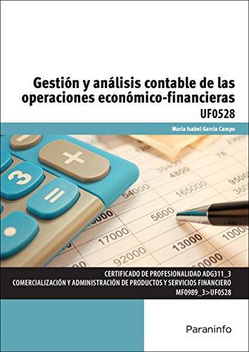 Gestión y análisis contable de las operaciones económico-financieras (Cp - Certificado Profesionalidad) por MARÍA ISABEL GARCÍA CAMPO