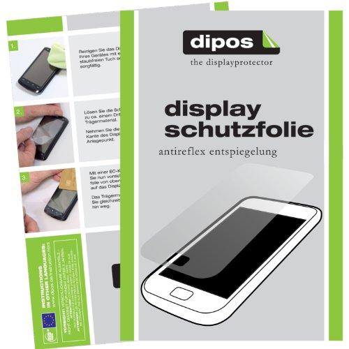 dipos I 6X Schutzfolie matt passend für HTC One X9 Folie Bildschirmschutzfolie