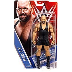 BIG SHOW - WWE SERIES 57 MATTEL TOY WRESTLING ACTION FIGURE by Wrestling