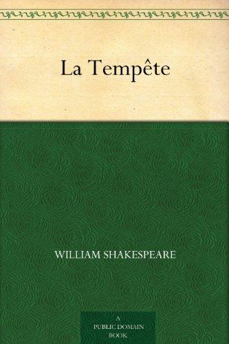 Couverture du livre La Tempête
