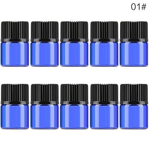 10Stück 1/23ml Mini-Flasche, Reisen, die kleine leere Atomizer Parfum-Fläschchen mit Kosmetik-Container