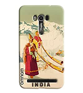Omnam Indian Art From Himalayas Printed Designer Back Cover Case For Asus Zenfone Go