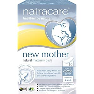 (2 Pack) – Natracare – New Mother Maternity Pads | 10pieces | 2 PACK BUNDLE by Natracare