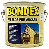 Bondex Farblos für Außen Farblos 2,50 l - 330032
