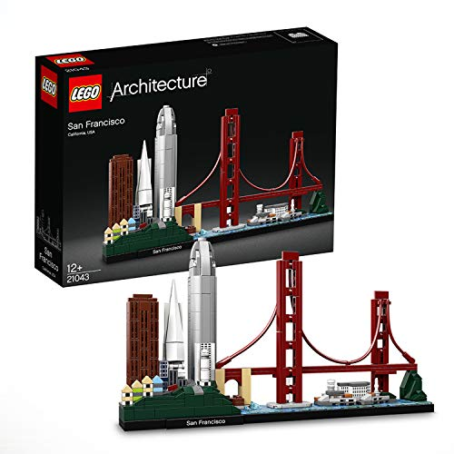 LEGO Architecture 21043 - San Francisco, Bauset