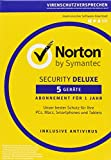 SYMANTEC Norton Security Deluxe (5 Geräte - PC, Mac, Smartphone, Tablet)