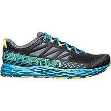 La Sportiva Hombre Lycan Guantes trailrunningschuhe nuevo, hombre, black-tropic blue, 46