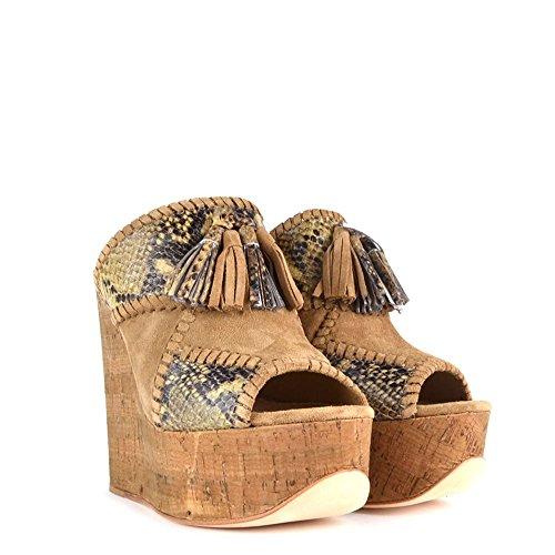 Sandálias Pardas Subir As Sapatos Couro Blondie Cinza De pxq4xnw5fH