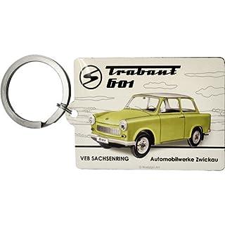 Nostalgic-Art 47019 Trabant - Trabant 601, Schlüsselanhänger 6x4,5 cm