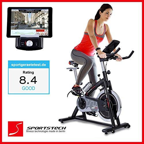 Sportstech SX200 bicicleta estática profesional con App control para Smartphone...