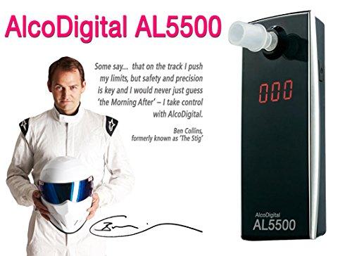 ACE AL5500 - Digitaler Alkoholtester mit Halbleitersensor -