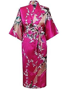 HonourSport Canotte lunghe Kimono giapponese da donna