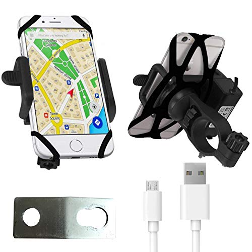 Blackcat-Mobile-Charger-with-Holder-for-All-Bikes-Micro-USB-Cable