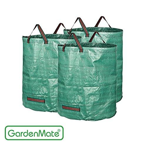 GardenMate® 3x sacchi per i rifiuti da giardino 272L