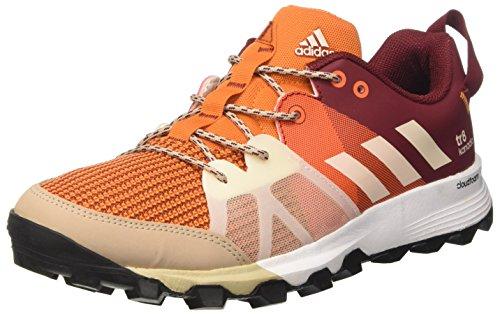adidas Kanadia 8 Tr M, Zapatos Correr Hombre, Rojo (Arancionenartac/bl