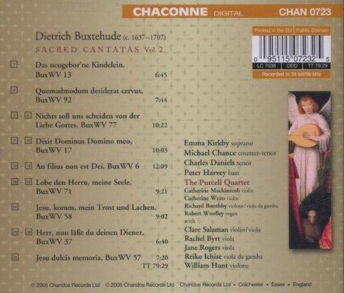 SACRED CANTATAS VOL.2 -  Dietrich Buxtehude