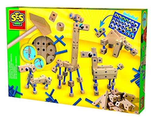 ses-france-14941-kit-de-loisirs-creatifs-animaux-en-bois