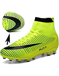 H-Mastery Herren Fußballschuhe AG Spike Cleats Beruf Athletics High Top Football Boots