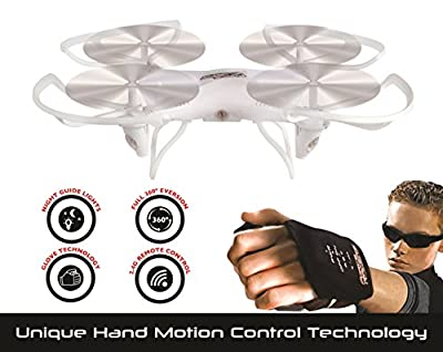 FORCE FLYERS Explorer Drone with Motion Glove