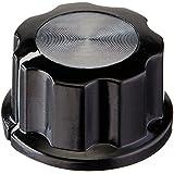 Image of 10 PCS 6mm Shaft Insert Dia Black Plastic Potentiometer Knobs Caps - Comparsion Tool