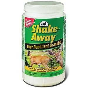 Shake Away 5006158 Deer Repellent Granules, 5-Pound