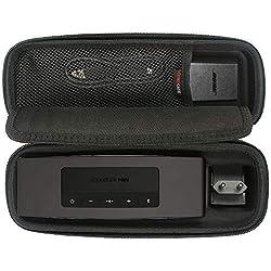 COMECASE Voyage dur étui housse sac protection de transport pour Bose Enceinte Bluetooth SoundLink Mini II/ Mini I. Convient au chargeur mural et Berceau de charge