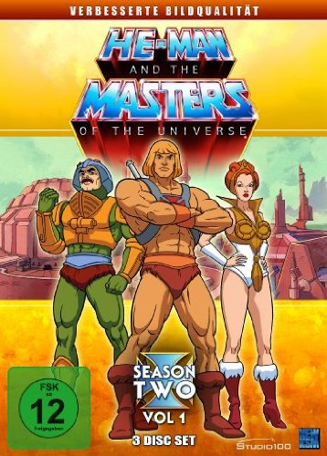 He-Man and the Masters of the Universe - Season 2, Vol. 1 [3 DVDs]