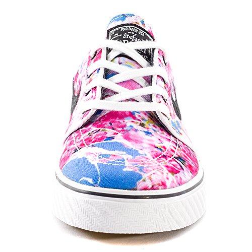 Nike Zoom Stefan Janoski Cnvs Prm, Chaussures de Skate Homme, Multicolore, Taille Rose / noir / blanc (rose dynamique / noir - blanc - gomme, marron clair)