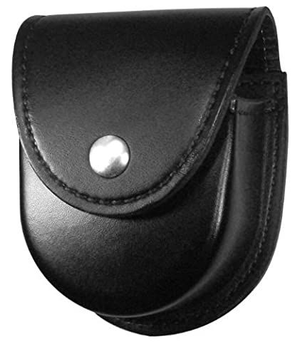 Gould & Goodrich K596Br Double Handcuff Case Place On Belt Up To 2-1/4-Inch (Black) by Gould & Goodrich