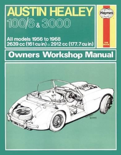 Austin Healey 100 Owners Workshop Manual