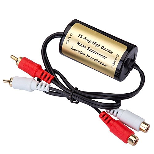 Antiparasitage Pour Amplificateur Isolateur Antiparasite Voiture Filtre Rca Auto Anti Bruit MrHo 15amp EDIYWH29