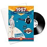 1957 Jubiläum oder Geburtstag Geschenke - 1957 4-in-1 Karten und Geschenk - Story of Ihr Jahr, CD, Musik-Download