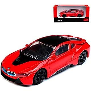 alles-meine.de GmbH BMW I8 Coupe Rot Ab 2013 1/43 Rastar Modell Auto