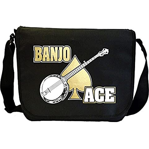 Banjo Ace - Sheet Music Document Bag Borsa Spartiti MusicaliTee