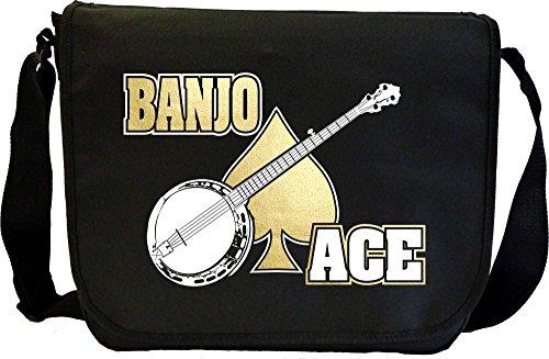 Banjo Ace - Sheet Music Document Bag Musik Notentasche MusicaliTee