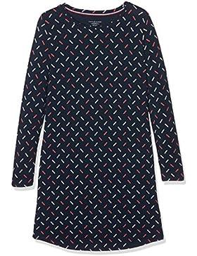 Tommy Hilfiger Dress Ls Sparkle Print, Camicia da Notte Bambina